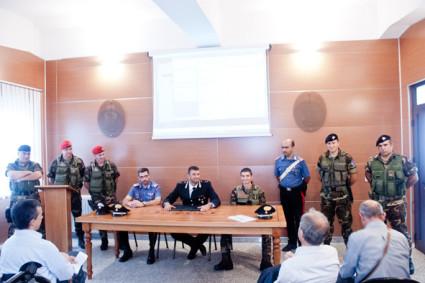 La conferenza stampa (foto S. Novellu - Cronache Nuoresi)