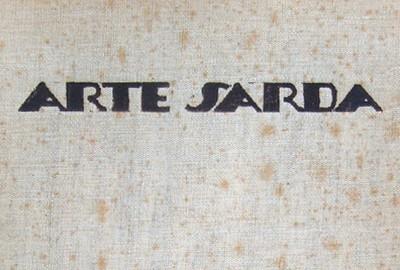 Copertina della I° Ed. di Arata-Biasi, Arte Sarda, 1935