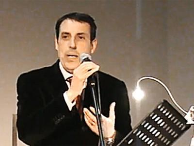 Il Presidente del Consiglio Comunale di Nuoro, Gianni Salis