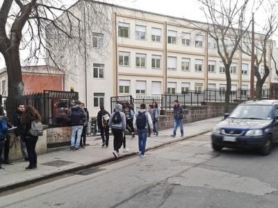 Il Liceo Linguistico e Scientifico E. Fermi (foto S. Novellu - Cronache Nuoresi)