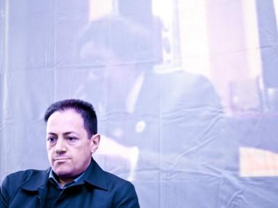 Roberto Deriu incontra Philippe Daverio (foto S. Novellu - Cronache Nuoresi.