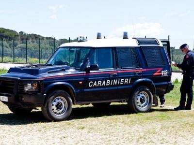 Un mezzo dei Carabinieri (foto S.Novellu - Cronache Nuoresi))