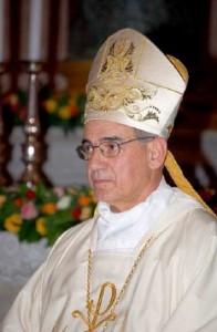 Monsignor Mose Marcia Vescovo di Nuoro
