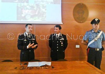 Un momento della conferenza stampa dei Carabinieri (© foto S.Meloni)