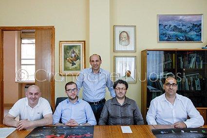 La conferenza di presentazione (© foto Cronache -Nuoresi )