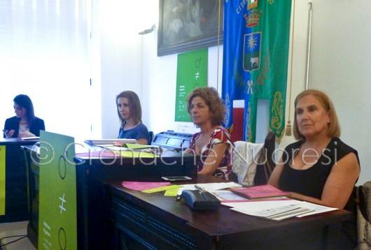 Un momento della conferenza stampa (© foto G. Bolle - Cronache Nuoresi)
