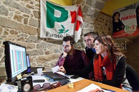 Elezioni Regionali 2014: la sede di Daniela Forma (© foto S. Novellu)