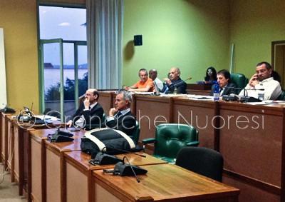La maggioranza in Consiglio Comunale (© foto Cronache Nuoresi)