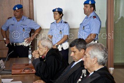 Un momento del processo per l'omicidio Dina Dore (© foto S. Novellu)