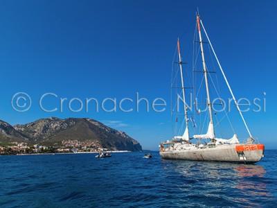 Tara Mediterranée Expedition a Cala Gonone (© foto S.Novellu)