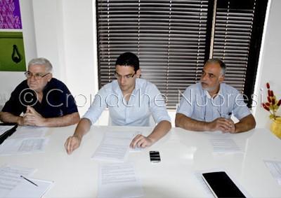 Un momento della conferenza stampa (©foto Cronache Nuoresi)