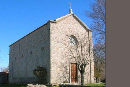 La chiesa della Madonna D'Itria Gavoi
