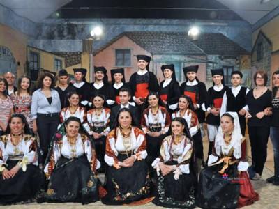 Il gruppo folk Thurcali di Dorgali