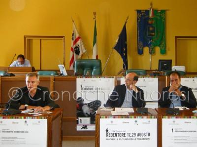 La conferenza stampa di presentazione della 114° Sagra del redentore (© foto S.Meloni)