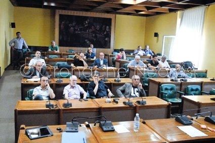 La seduta del Consiglio Comunale (© foto Cronache Nuoresi)