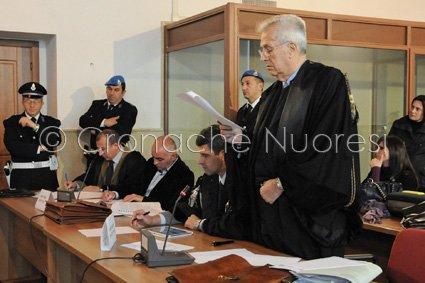 L'avvocato di Parte Civile della famiglia di Dina Dore, Mariano Delogu