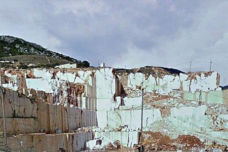 Orosei, cava di marmo in località Campu Longu