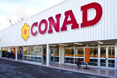 Un punto vendita Conad