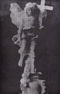 V. Jerace, bozzetto della statua del Redentore
