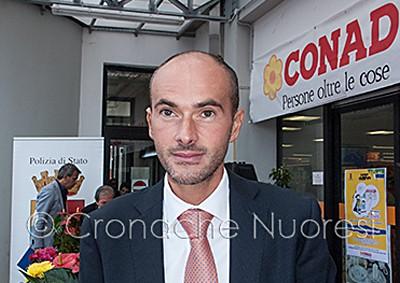 Il Vice Questore aggiunto F.Mustaro (© foto S.Meloni)