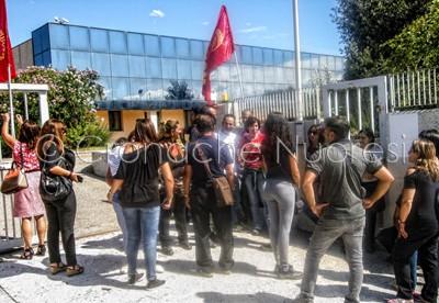 Incontro tra lavoratori IDEA Motore e gli imprenditori di Viterbo (©foto Cronache Nuoresi)