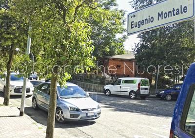 L'area del mercato in via Montale (© foto S.Novellu)