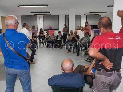 Un momento della riunione sulla TARI (©foto S.Novellu)