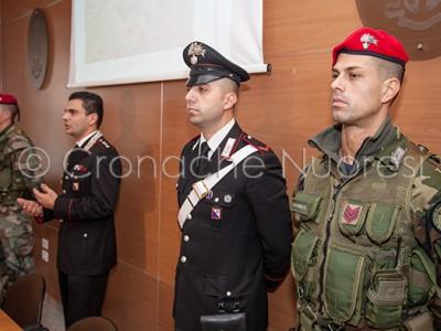 Un momento della conferenza stampa per l'arresto (© foto S.Novellu)