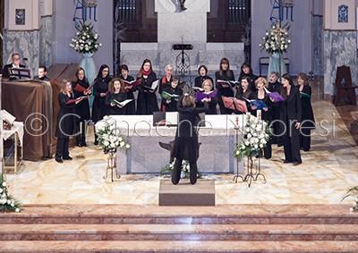 Voci femminili del Complesso Musicale di Nuoro (© foto S.Novellu)