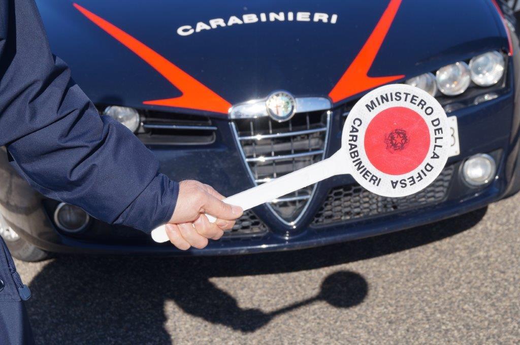Carabinieri: week end di controlli sul territorio