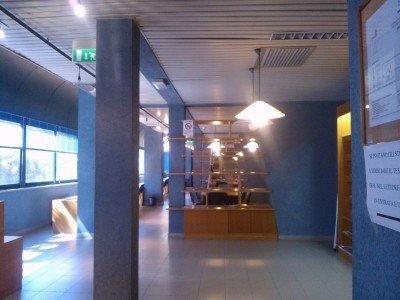 Una biblioteca dell'Università di Cagliari