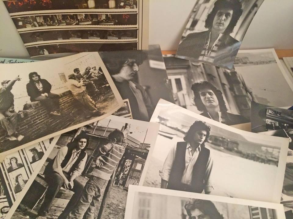 Alcune fotografie pubblicate sulla pagina Facebook di Pino Daniele