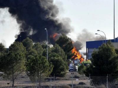 Llo schianto dell'F 16 sulla Base NATO di Albacete