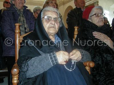 I cento anni di Zia Chischedda Careddu (© foto S. Meloni)