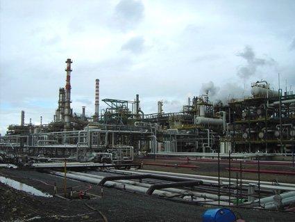 La zona industriale di Ottana