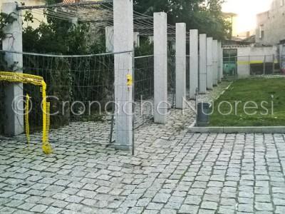 Uno scorcio della piazza (© foto Cronache Nuoresi)