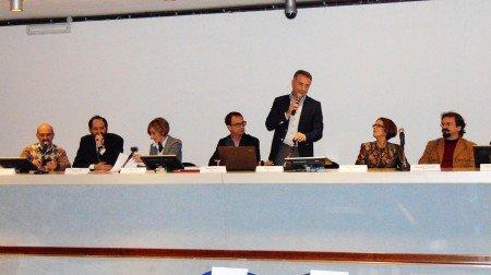 Il convegno e il primo logo di presentazione di CamerArte
