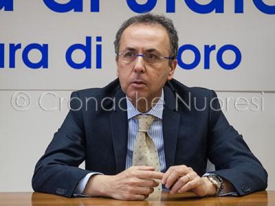 Dott. Paolo Fassari, nuovo Questore di Nuoro (© foto S. Meloni)