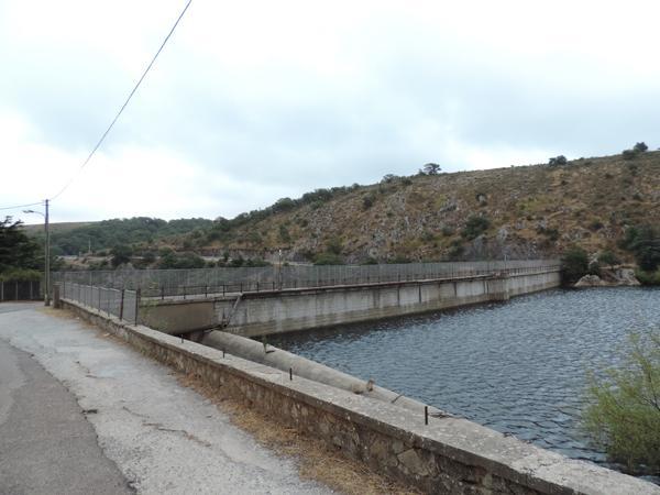 Una vista del lago Govossai