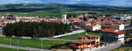 Una panoramica di Ortacesus