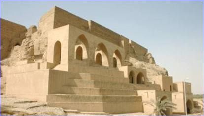L'edificio religioso raso al suolo dall'Isis