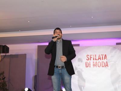 Il cantante Mario Garrucciu