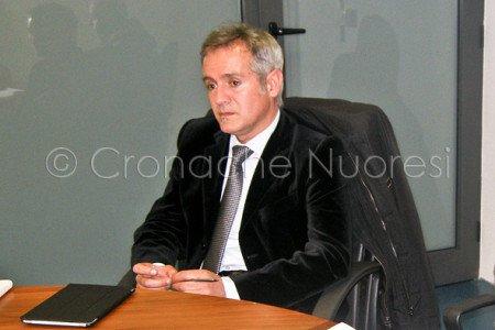 Il Sindaco di Nuoro Alessandro Bianchi (foto Cronache Nuoresi)