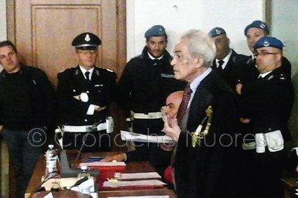 Processo Dore, la requisitoria dell'avv. Lai (© foto S.Meloni)
