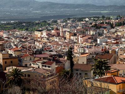 Una panoramica di Dorgali (© foto S.Novellu)