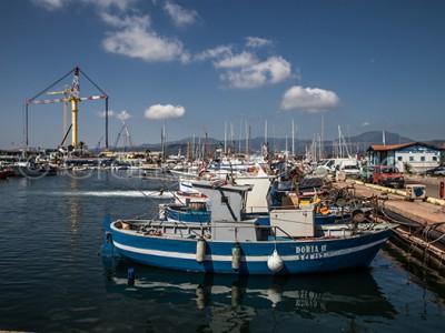 Una veduta del porto di Arbatax (© foto S.Novellu)