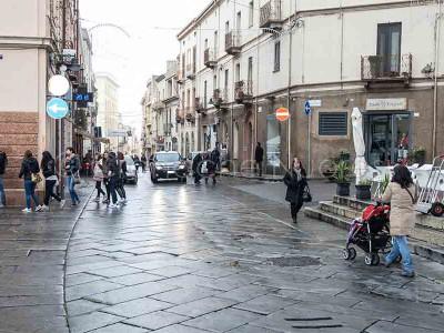 Nuoro, il corso Garibaldi (© foto S.Novellu)