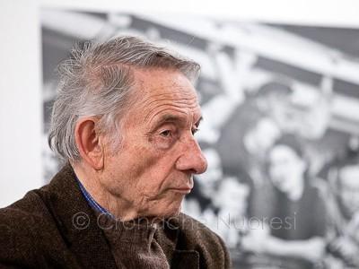 Mario Dondero racconta Robert Capa al MAN (© foto S.Novellu)