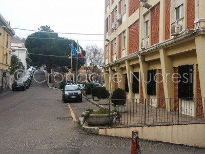Nuoro, il Comando dei Carabinieri (foto S.Meloni)