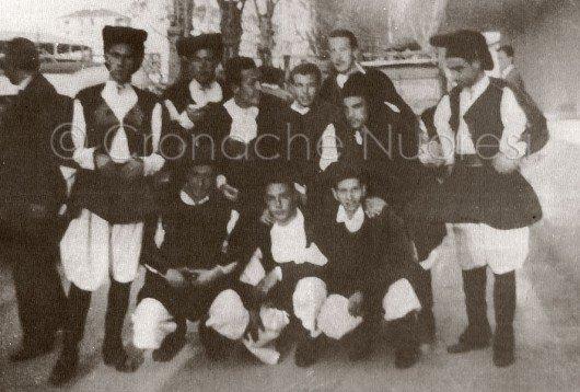 Il Coro di Nuoro al Campanile d'oro del 1954-55